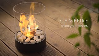 Chantico Glassfire- Create a cozy home with natural fire #stayathome