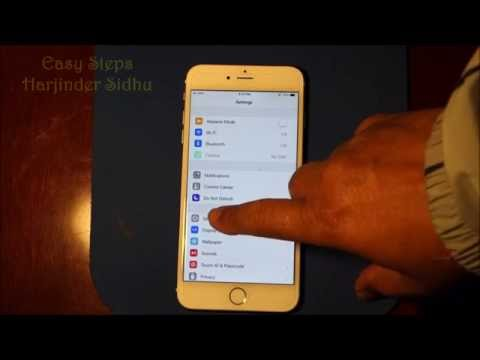 How to Reset iPhone 6 Plus to factory settings   Original Settings