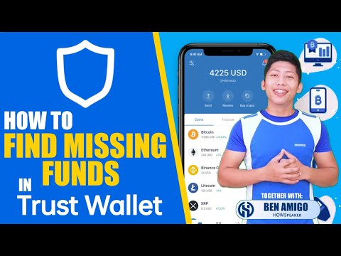 TRUST WALLET: HOW TO FIND MISSING CRYPTO / FUNDS IN TRUST WALLET
