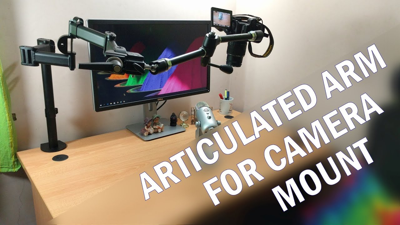 Articulated Arm For Camera Mount