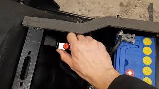Проверка угла опережения зажигания на снегоходе Тайга при помощи стробоскопа