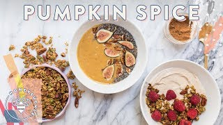 3 PUMPKIN SPICE Breakfasts to get in that Fall Spirit
