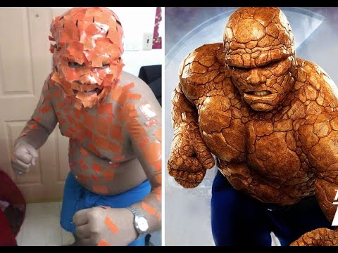 Hilarious & Funny Cheap Cosplay Outfits - 동영상