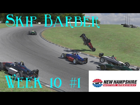 Who's Fault Was It ? - Skip Barber Series @ New Hampshire - S1 W10 2017 R1 -  IRacing