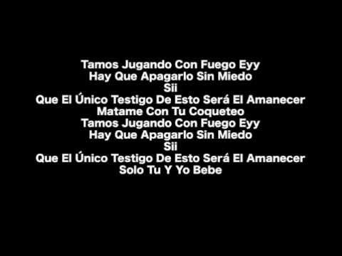 Junto al Amanecer Remix (Karaoke) - J alvarez ft. Daddy Yankee