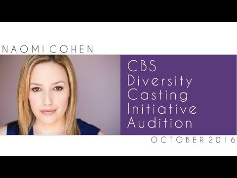 CBS Drama Casting Initiative Audition 2016  Naomi Cohen