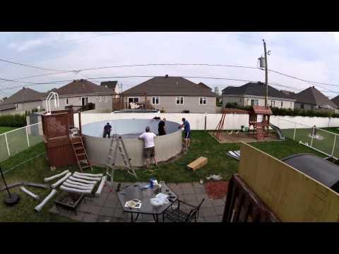 Video montage lampe led rgb seamaid pour piscine hors sol for Piscine hors sol julien albi