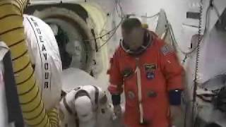 STS-127: Astronauts Are Boarding Shuttle Endeavour Part 1
