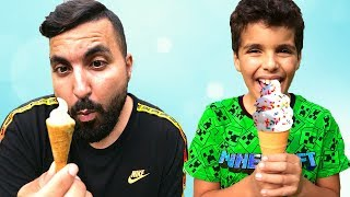 sami play ice cream