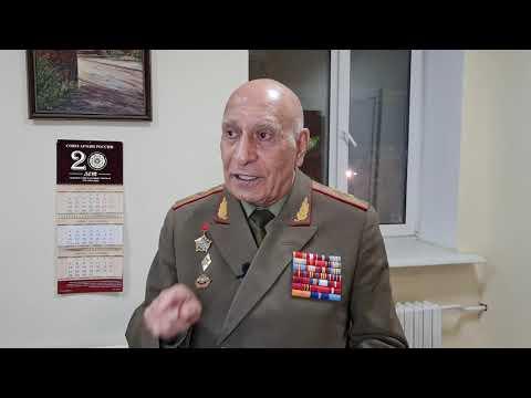 Генерал Норат Тер-Григорьянц о встрече в Москве с Президентом Армении Арменом Саркисяном