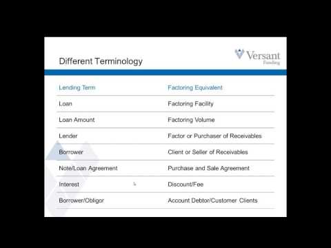 accounts receivable financing activity
