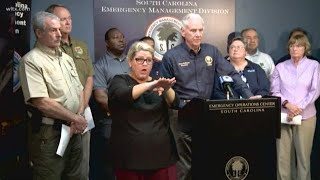 SC governor lifts evacuation order for some South Carolina counties