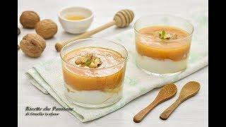Mousse di cachi e yogurt greco con coulis di cachi - Ricette che Passione