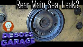 case ih 7140 rear main seal repair