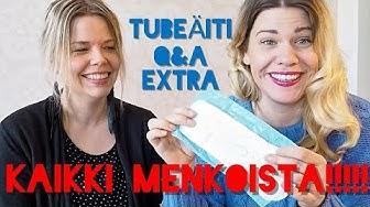 SUURI MENKKAEXTRA - KAIKKI MITÄ HALUSITTE TIETÄÄ KUUKAUTISISTA I TUBEÄITI Q&A