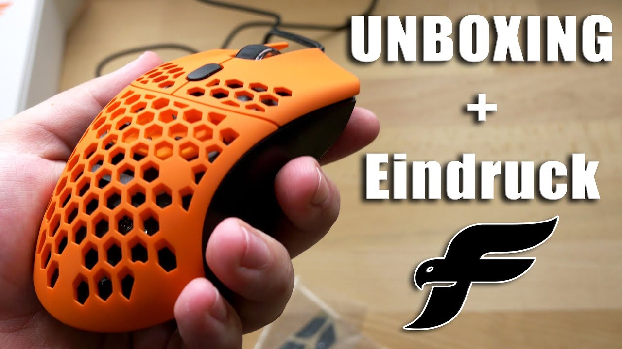 Final Mouse Ultralight Pro - Sunset | Unboxing/Ersteindruck