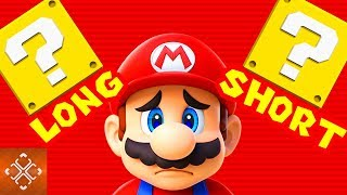 5 Nintendo Games That Are Way Too Long (And 5 That Are Too SHORT!)