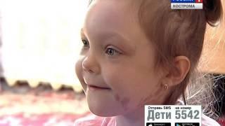Костромичи и «Русфонд» продолжают сбор средств на лечение 6-летней Сони Комаровой