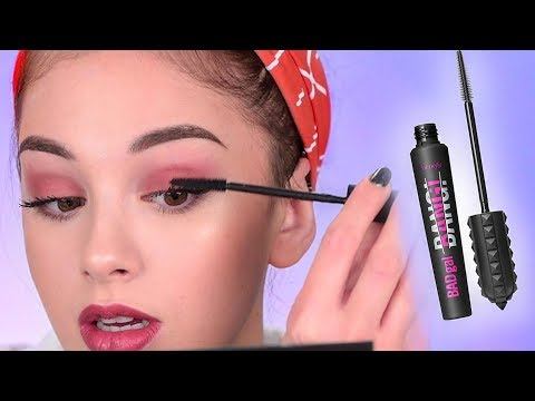 Trying out the BENEFIT BADGAL BANG MASCARA   First Impressions & Review