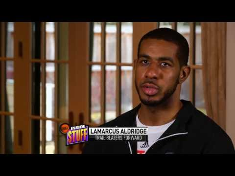 Getting to know LaMarcus Aldridge on NBA Inside Stuff