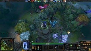 Drow Ranger jungle-ancient farming 6.86