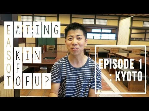 EATING the SKIN of a TOFU (YUBA)?  - Kyoto, Life in Japan, VLOG Ep 1