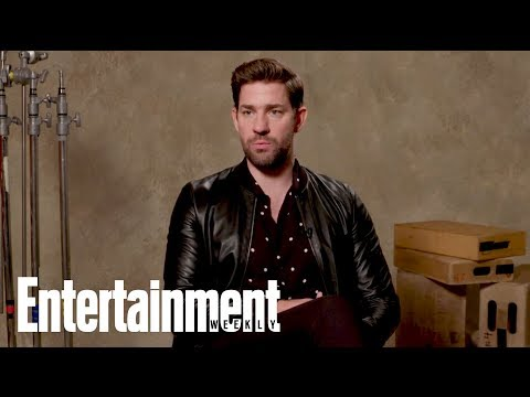 John Krasinski On Crying During 'Mary Poppins Returns' With Emily Blunt | Entertainment Weekly