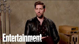 John Krasinski On Crying During 'Mary Poppins Returns' With Emily Blunt   Entertainment Weekly