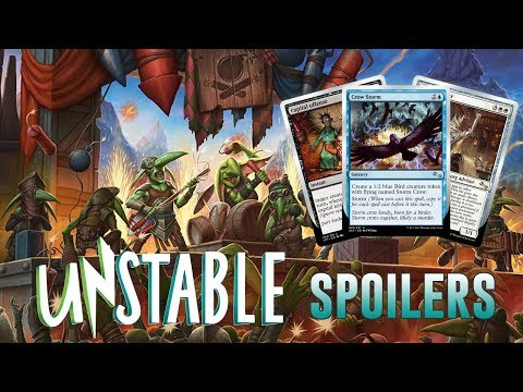 Daily Unstable Spoilers — November 14, 2017 | Crow Storm, Rules Laywer, Mythics