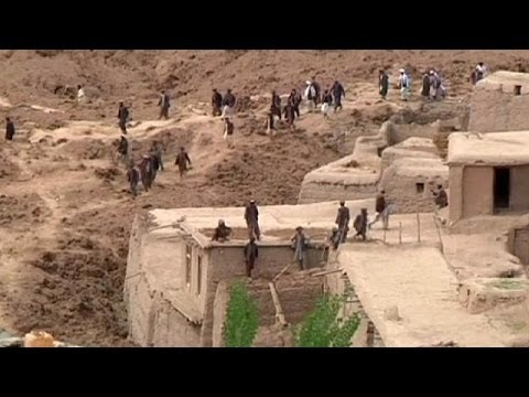 Day of mourning for Afghanistan landslide victims