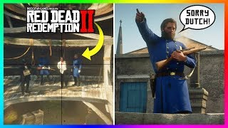 What Happens If Arthur Shoots Colm O'Driscoll Before He's Hanged In Red Dead Redemption 2? (RDR2)