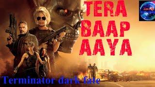 Tera baap Aaya | Tere Aage Main Mere Piche Tu | Terminator dark fade | Action Status Video Song