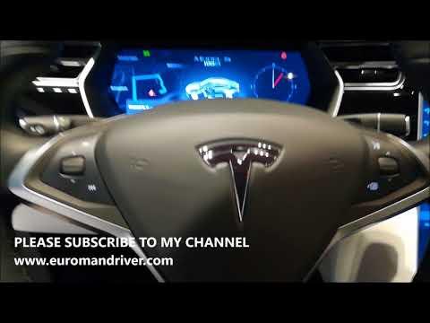 New 2018 Tesla Model S Premium Luxury Electric Car P100 EuromanDriver Review