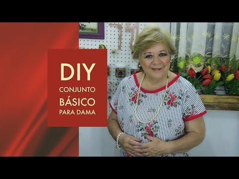 DIY  CONJUNTO BASICO PARA DAMA