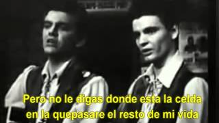 TAKE A MESSAGE TO MARY - The Everly Brothers (Subtitulado)