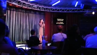 Amazing girl on karaoke sings Stay by Rihanna