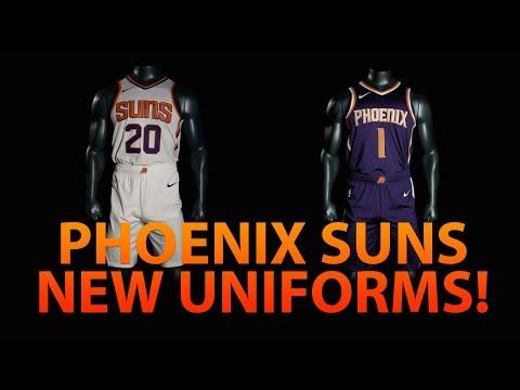 PHOENIX SUNS NEW REBRAND REVEAL! | NEW UNIFORMS!