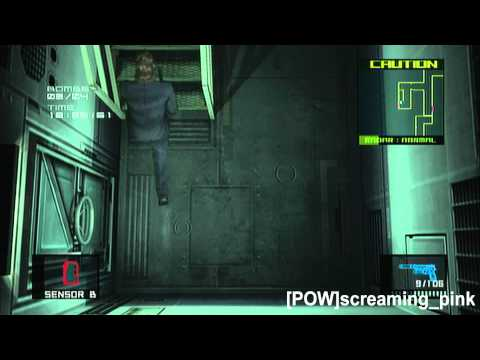 Snake (Tuxedo) Bomb Disposal Mode levels 1-5 MGS 2 HD VR Missions Part 56