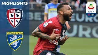 Cagliari 1-0 Frosinone | Pedro Penalty Wins It for 10-Man Cagliari | Serie A