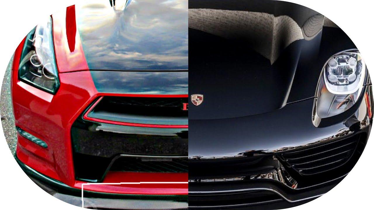 drag race nissan gtr vs porsche 918 spyder youtube. Black Bedroom Furniture Sets. Home Design Ideas