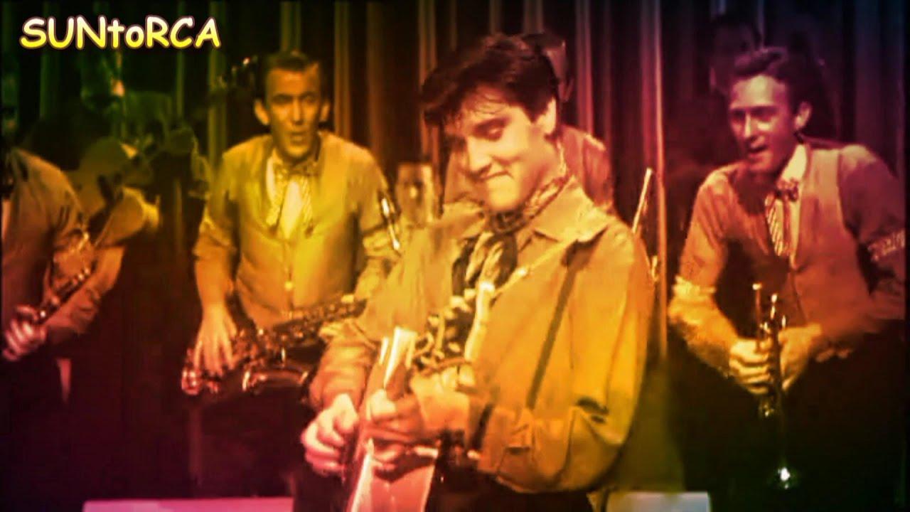 Elvis Presley - I Need Your Love Tonight (Colourised Video Edit)