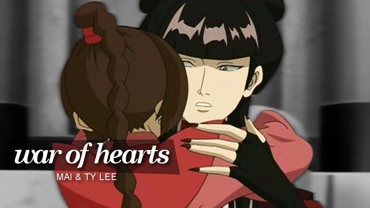 Avatar Azula Mai Ty Lee war of hearts; ty lee✘mai