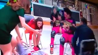 Ingrid Coronado Se Da Senton En El Piso - Ni Sus Compañeros La Quieren #SeBurlan