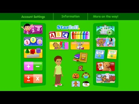 starfall free game for kids ios iphone ipad gameplay review