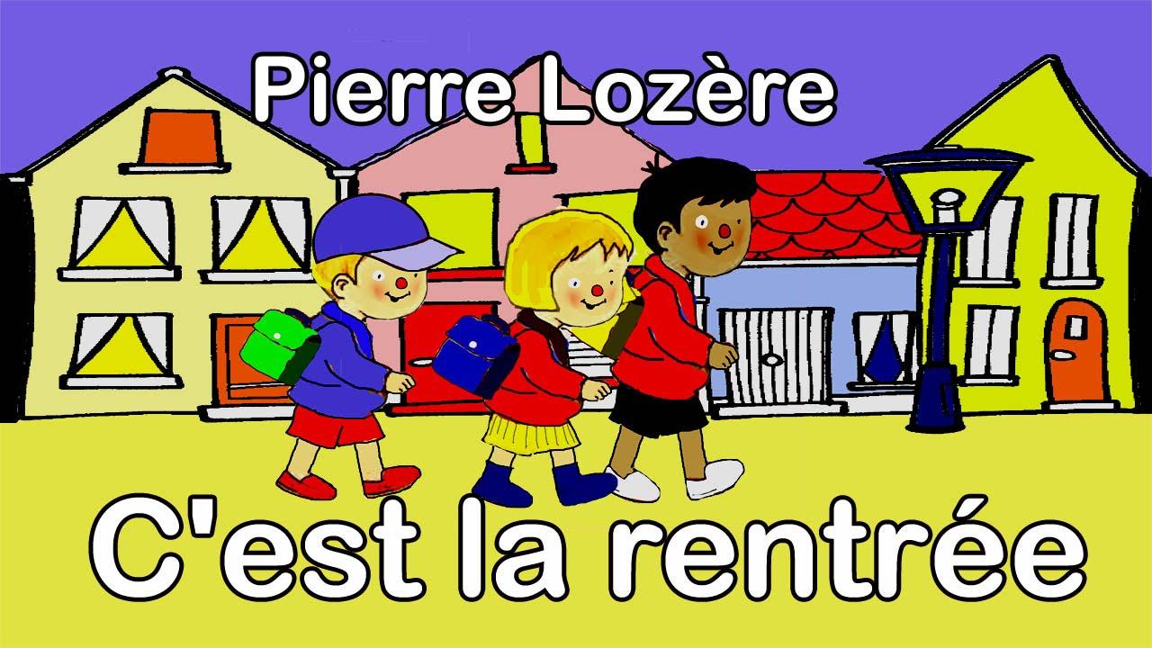 0a8cec6fbf471 Pierre Lozère C'est la rentrée - YouTube