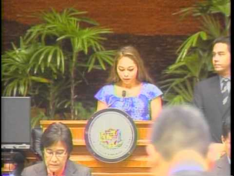 Angelique Fontaine - Invocation -Hawaii State House of Representatives