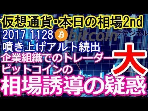 11月30日、ビットコイン大暴落の原因はストップ狩りの影響説! | ぴかちゃうりょうの音楽日記