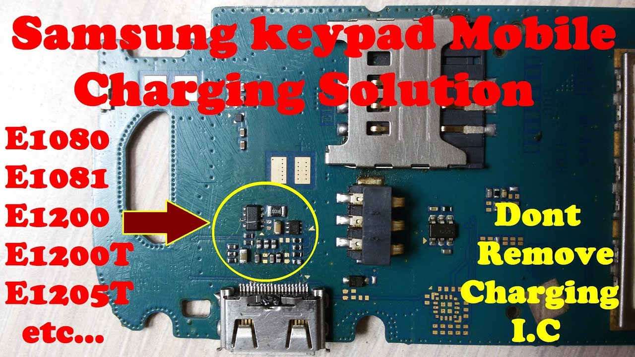 How To Repair Samsung Mobile Charging Not Show Solution