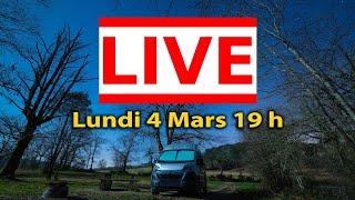 Live - Van Life - Vie en Fourgon Aménagé - Camping Car - FAQ