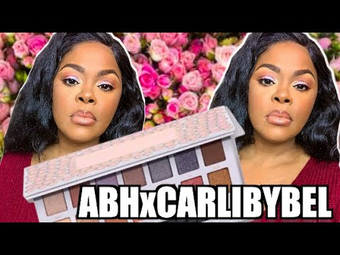 CARLI BYBEL X ANASTASIA BEVERLY HILLS REVIEW + SWATCHES ABH HOLIDAY SET thumbnail